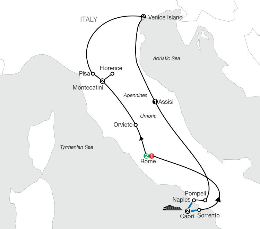 The Best Of Italy Globus 11 Days